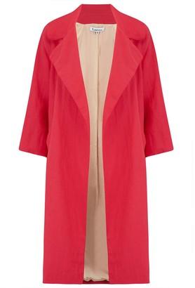 Libelula Woolhampton Coat Red Linen