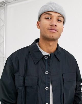 Asos lightweight utility jacket in dark navy