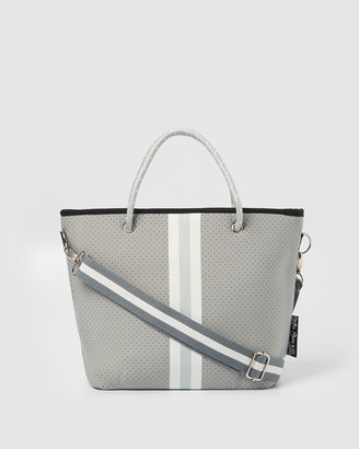 Miz Casa and Co - Women's Grey Tote Bags - Beverly Neoprene Mini Tote Bag - Size One Size at The Iconic