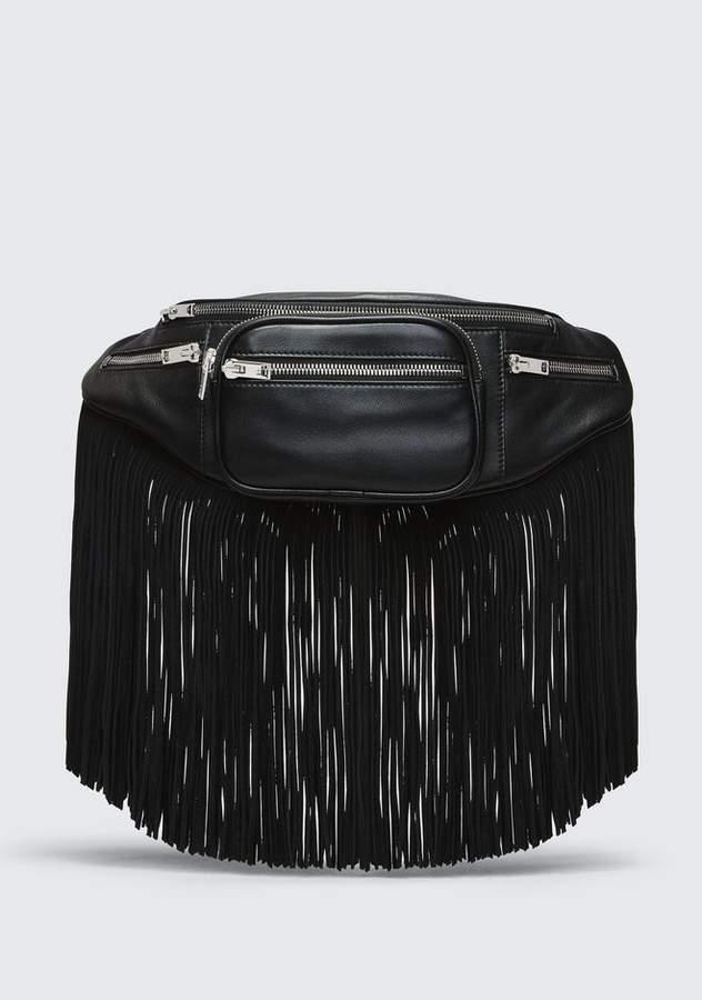 Alexander Wang FRINGE ATTICA FANNY PACK Shoulder Bag