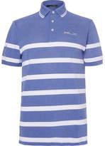 RLX Ralph Lauren Pro Fit Tech-piqué Golf Polo Shirt - Blue