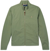 Polo Ralph Lauren Cotton-Blend Twill Harrington Jacket