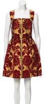Dolce & Gabbana Jacquard Mini Dress w/ Tags
