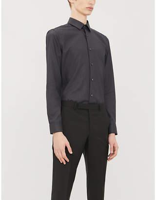 BOSS Slim-fit stretch-cotton shirt