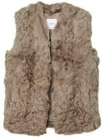 MANGO Faux fur waistcoat
