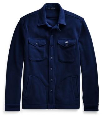 Ralph Lauren Stretch Fleece Shirt Jacket
