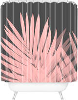 Deny Designs Palm Leaves Shower Curtain
