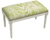 Bungalow Rose Frey Upholstered and Wood Bench