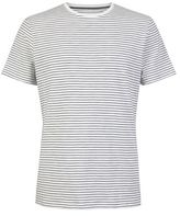 Burton Mens Ecru Stripe T-Shirt