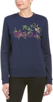 Eight Dreams Ei8ht Dreams Embroidered Sweatshirt