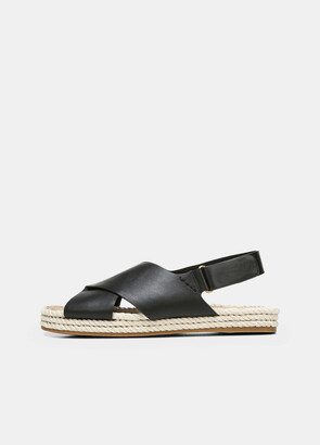 Vince Leather Essen Sandal
