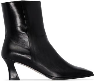 LVIR 65mm Slanted Heel Boots