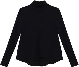 Turtle Neck Sweater In Black