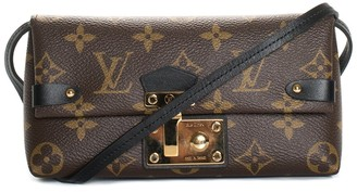 Louis Vuitton Monogram Canvas Triangle Chain Wallet