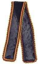 Burberry Silk Knit Scarf