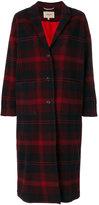 Bellerose tartan check coat
