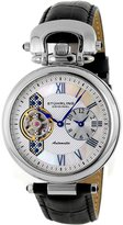 Stuhrling Original Men's 127.33152 Boardroom 'Emperor' Dual Time Zone Watch