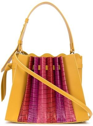 Sara Battaglia Franca pleated bag