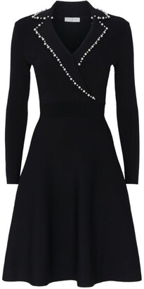 Sandro Embellished Collar Dress