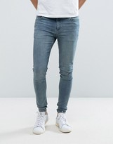 Cheap Monday Him Spray Jeans Daze Blue Wash