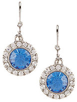Carolee Something Blue Drop Earrings