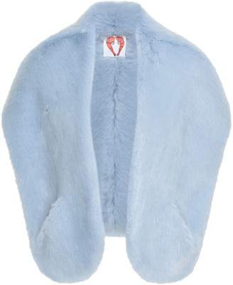 Shrimps Faux Fur Shrug