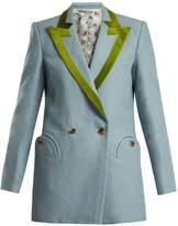 BLAZÉ MILANO Midday-Sun double-breasted linen blazer