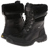 UGG Butte (Little Kid/Big Kid) (Black) - Footwear