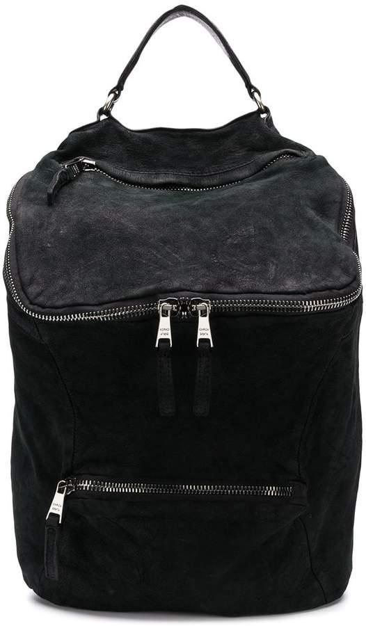 Giorgio Brato top zipped backpack
