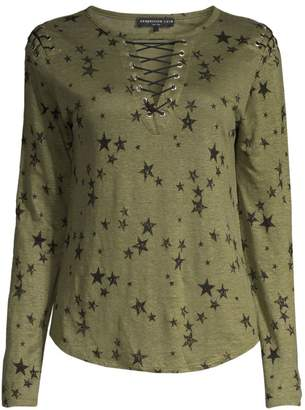 Generation Love Valentina Lace-Up Star Tee
