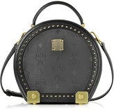 MCM Berlin Black Hat Box Small Crossbody