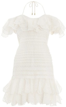 Zimmermann Super Eight Off Shoulder Mini