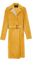Derek Lam Suede Trench Coat