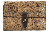 Patricia Nash Glazed Floral Collection Colli Wallet