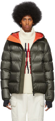 MONCLER GRENOBLE Green Down Hintertux Puffer Jacket