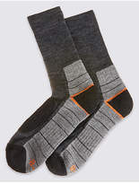 Marks And Spencer Marks And Spencer 2 Pairs Of Boot Walking Socks