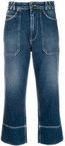 Mr & Mrs Italy cropped jeans