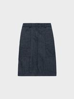 DKNY Pure Pencil Skirt With Back Elastic Waistband