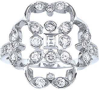Kwiat Crochet 18K 0.69 Ct. Tw. Diamond Ring