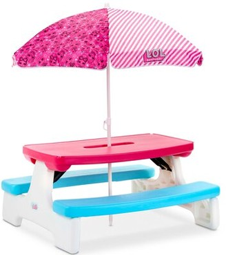 Little Tikes L.O.L. Surprise! Birthday Party Table with Umbrella