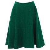 J.W.Anderson Green Wool Skirt for Women