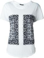 Alexander McQueen paisley print T-shirt