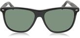 Ermenegildo Zegna EZ0009 01N Black Polarized Men's Sunglasses