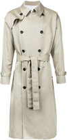Aton - classic trench coat - men - Cotton - 4
