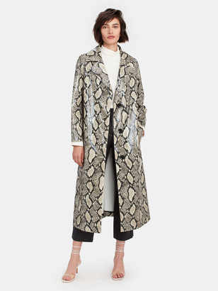 Stand Studio Mollie Snake Print Coat