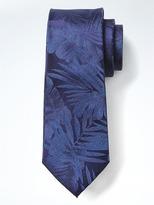 Banana Republic Palm Silk Tie