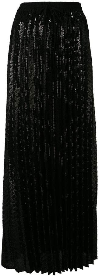 P.A.R.O.S.H. long flared skirt