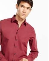 Express modern fit heathered 1MX shirt