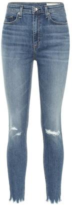 Rag & Bone Nina high-rise skinny jeans