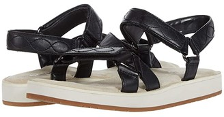Earth Sylt Saba (Black Smoothy) Women's Sandals